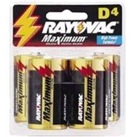 Rayovac D Cell Alkaline Rayovac Batteries
