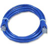 QVS CAT 6 Blue Snagless Network Cable 50 Foot