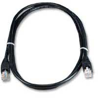 QVS CAT 6 Black Snagless Network Cable 50 Foot