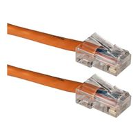 QVS CAT 5e Orange Stranded Network Cable 25 Foot