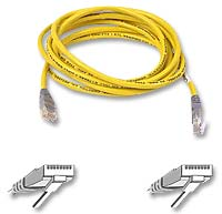 Belkin CAT 5e Crossover Network Cable 7 ft. - Yellow