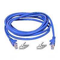 Belkin CAT 5e Blue Snagless Network Patch Cable 14 Foot