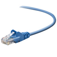 Belkin CAT 5e Blue Snagless Network Patch Cable 25 Foot