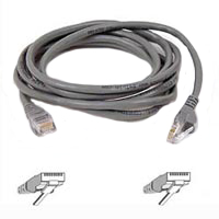Belkin CAT 5e Snagless Network Cable 14 ft. - Gray