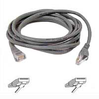 Belkin CAT 5e Gray Snagless Network Cable 50 Foot