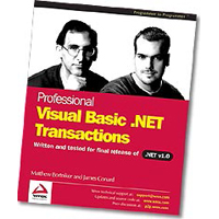 WROX Press Professional VB.NET Transactions