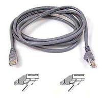 Belkin FastCAT 5 Gray Snagless Network Cable 50 Foot