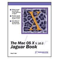 Paraglyph Mac OS X.2 Book Jaguar Edition