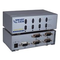 QVS 4 Port VGA Video Share Switch