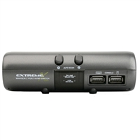 IOGear MiniView Extreme Multimedia 2-Port KVMP Switch with Cables