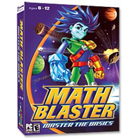 Knowledge Adventure Math Blaster: Master the Basics (PC)