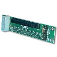 QVS SCSI SCA HPCen80 Female to HPDB68 Female Adapter