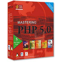 Amazing eLearning Mastering PHP 5.0 - 5 Disc Pack (PC/Mac)