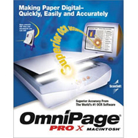 Nuance OmniPage Pro 10 Upgrade (Mac)