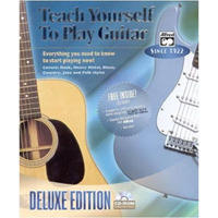 Alfred Software Teach Yourself to Play Guitar: Deluxe Edition