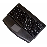 Adesso Mini-Touch Keyboard with Touchpad (Black)