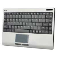 Adesso SlimTouch Wireless 2.4 GHz RF Mini Touchpad Keyboard
