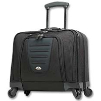 Samsonite Spinner Mobile Office Wheeled Laptop Case Fits Screens up to 15.4""