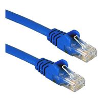 QVS CAT 6 Blue Snagless Network Cable 75 Foot