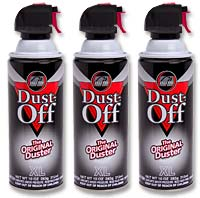 Falcon Dust Off XL 10oz. Duster with Bitterent 3-Pack