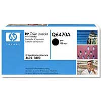 HP Q6470A Black LaserJet Toner Cartridge