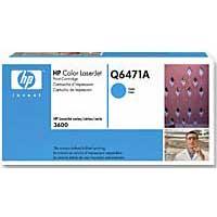 HP Q6471A Cyan LaserJet Toner Cartridge