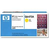 HP Q6472A Yellow LaserJet Toner Cartridge