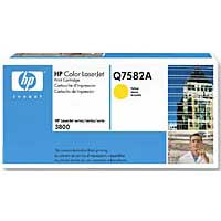 HP Q7582A Yellow LaserJet Toner Cartridge