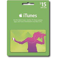 InComm $15 iTunes Music Card