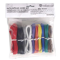 Velleman Solid Core Mounting Wire Kit 60m 10-Color