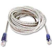 Belkin RJ-11 Male to RJ-11 Male Hi-Speed Internet Modem Cable 15 ft. - Clear