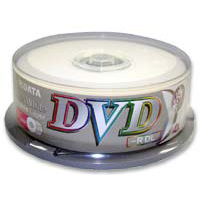 Ridata Printable DVD-R DL 4x 8.5GB/240 Minute 25-Pack Spindle