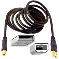 Belkin Gold Series USB 2.0 A/B Cable Black