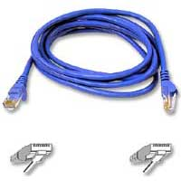 Belkin CAT 6 Blue Snagless Patch Cable 25 Foot