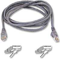 Belkin CAT 6 Gray Snagless Patch Cable 25 Foot