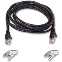 Belkin Cat 6 Black Snagless Patch Cable 50 Foot