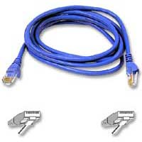 Belkin Cat 6 Blue Snagless Patch Cable 50 Foot