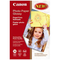 "Canon Glossy Photo Paper 4""x6"" 50 Sheets"