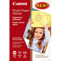 "Canon Photo Paper Glossy 4""x6"" 100 Sheets"