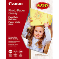 "Canon 8.5""x11"" Photo Paper Glossy 50-Sheets"