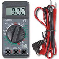 Velleman Mini 3 1/2 Digit 19 Range Digital Multimeter