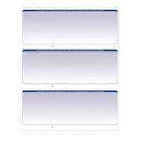 VersaCheck Refills: Form #3000 Blue Graduated (PC)