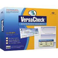 VersaCheck VersaCheck Refills: Form #3001 Blue Graduated (PC)