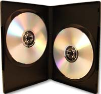 Meritline Products MulitKase 2 Disc DVD Case