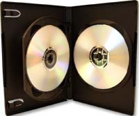 Meritline Products MultiKase 3 Disc DVD Case