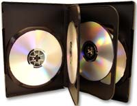 Meritline Products MultiKase 5 Disc DVD Case