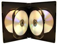 Meritline Products MultiKase 6 Disc DVD Case