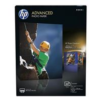 "HP Advanced Glossy Photo Paper 5""x7"" 60 Sheets"