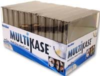 Meritline Products MultiKase 4 Disc Jewel Case