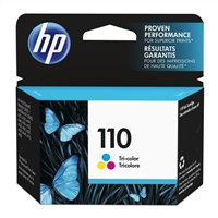 HP 110 Tri-color Ink Cartridge (CB304AN)